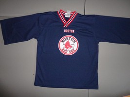 Boston Red Sox MLB  Baseball Genuine Merchandise Screen Jersey Youth L (... - $21.62
