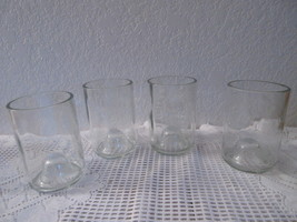 Recycled Wine Bottle Glasses - Set of 4 - $25.00
