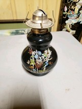 Amber Glass Oil Lamp Lantern - $29.70