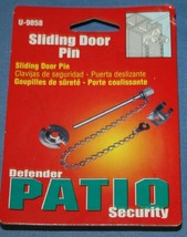 Sliding door Pin Defender Patio Security U-9858 Prime-Line New NIP - $6.31