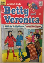 ARCHIE'S GIRLS BETTY AND VERONICA #158 (1969) Archie Comics VG+ - $9.89