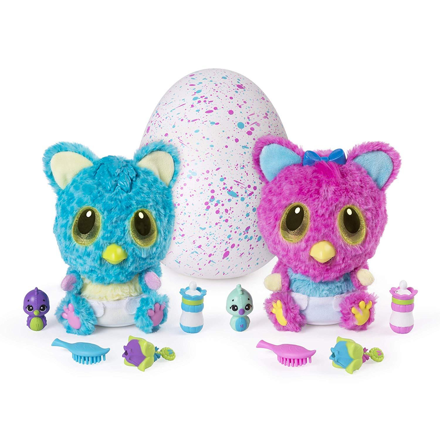 Hatchimals HatchiBabies Cheetree Hatching Egg with Interactive Pet Baby (Styles