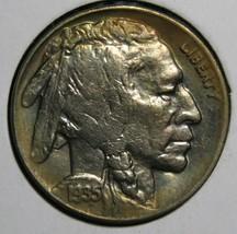 1935D Buffalo Nickel 5¢ Coin Lot # EA 326 - $28.01