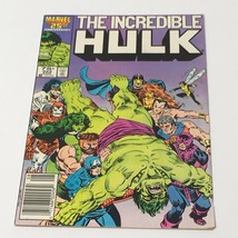 1986 Marvel The Incredible Hulk #322 Copper Age Comic Book Avengers She-... - $10.27