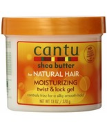 Cantu Shea Butter Natural Hair Moisturizing Frizz Control Twist & Lock G... - $12.86