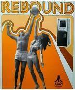 Atari Rebound Arcade FLYER Original 1974 Retro Video Game Retro Classic Artwork - $57.92