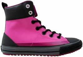 Converse Chuck Taylor Asphalt Boot Dahlia Pink  650006C Pre-School Size 11.5Y - $50.00