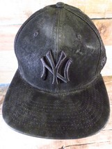 New York Yankees Black Snapback Hat New Era Adult Cap - $19.79