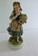 Vintage Lefton China Dutch Girl Figurine KW5263 - $9.49