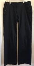 Ann Taylor Loft Marisa Modern Wide Leg Pants  Sz 6  Black - $16.79