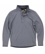 Under Armour UA Storm Golf Sweater Size Large Snap Button Mock Neck 1/4 ... - $29.99