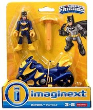 Fisher-Price Imaginext Batgirl & Batcycle Pack Action Figure  - $13.99