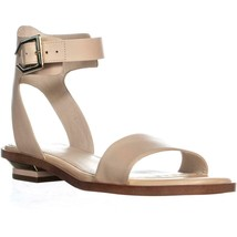 Cole Haan Avani Ankle Buckle Sandals, Nude Leather, 5.5 US - $55.67