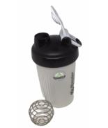 Blender Bottle 20 oz Plastic Carry Loop Lid Black Smoothie Shake Metal B... - $12.86