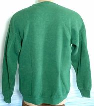 Vintage LEE Made in USA TRADERS L Southern California Cars Sweatshirt Mens Green image 4