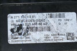 2012 Mercedes W204 C250 ECU Engine Computer EIS Ignition FOB ISL Set  image 7