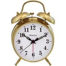 Westclox 70010G Metal Twin Bell Alarm Clock - $28.16