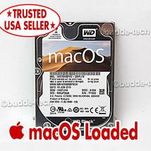 "Macbook Pro Hard Drive OSX Sierra 10.12 750GB 2.5"" 2011 2012 A1278 A1286... - $39.20"