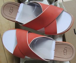 UGG Shoes Kari Slide Sandal Leather NEW - $90.00