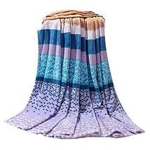 Baby Summer Air Conditioning Blanket Coral Carpet Infant Towel Siesta Blanket image 3