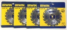 "(New) Irwin Marathon 5-3/8"" 18 T Circular Blade 14015 Lot of 4 - $31.67"