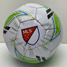 Franklin Sports MLS Soccer Ball, Size 1, Black, Green and White New - $8.01
