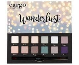 Cargo Cosmetics - High Pigment Eyeshadow Palette, Smudge-Proof, Transfer... - $24.45