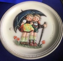 Hummel Anniversary  Plate with Box- Stormy Weather-1975 Hum 280 First Ed... - $14.84