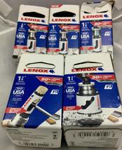"1 ea. Lenox 7/8, 1"",1-1/8, 1-3/8 & 1-3/4 Bi-Metal T3 Hole Saws w/ Speed ... - $34.60"