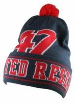 LRG Herren Marineblau Rot Core Sammlung Herren 47 Lifted Pom Winter Mütze Nwt