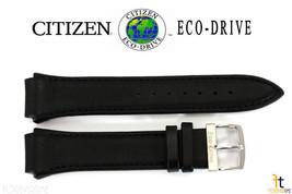 Citizen Eco-Drive 4-S049407 Original 24mm Cuir Noir Bracelet de Montre 4-S061458 - $82.71