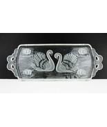"Mikasa Glass Swan Rectangular Serving Dish~Tray 15-1/2"" Long Made In Ger... - $13.00"