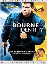 The Bourne Identity (DVD, 2003, Widescreen) - $3.63