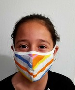 Face Mask Mouth Cover Washable Reusable Facial Covering Breathable Made in USA - $8.12