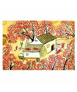 500 Piece Jigsaw Puzzle for Adults Wooden Art Puzzle Chinese Paintings G... - $35.18