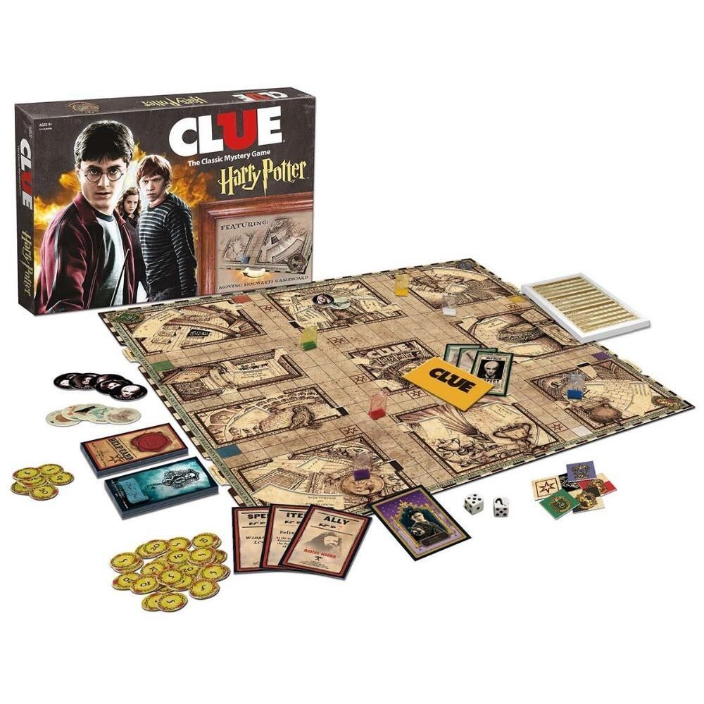Clue Harry Potter Board Game [New] Family Fun