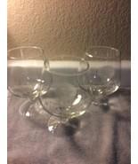 (3) CHRISTIAN BROS GLASSES--RARE RESERVE BRANDY--SNIFTER / GOBLET-FREE S... - $29.87