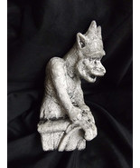 Notre Dame Gargoyle The Watcher Crouching Horned Statue Collection Medie... - $14.99