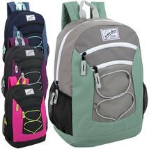 "Lot of 24 Wholesale (Urban Sport) 18"" Multi Pocket Bungee Backpacks for ... - $150.00"