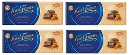 FAZER Salty toffee crunch in Milk Chocolate 4 x 200 g (4 pcs) - $33.17
