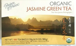 Prince of Peace 100% Organic Jasmine Green Tea 6.35 Oz/180g - 100 Tea Bags - $10.15