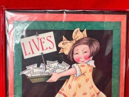 """Mary Engelbreit Wall Hanging Picture Plaque Art LIVES GET ONE 8.5"""" x 6"""" image 2"""