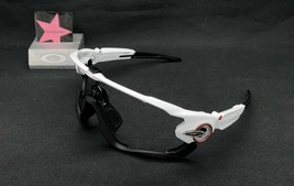 Oakley Jawbreaker Polished White Black Jaw Frame Only Authentic Custom - $77.60
