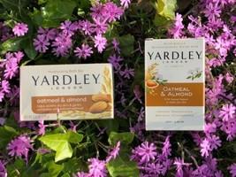 Set Of 2 Boxes Of Yardley London Soap Oatmeal & Almond Moisturizing Bath Bars - $10.84