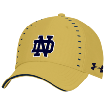 Notre Dame Irish NCAA Men's Under Armour Blitzing Stretch Fit Hat, M/L, NWT - $20.49