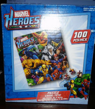 Marvel Heroes  100 Piece jigsaw  Puzzle  - $7.60