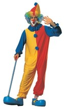 Clown Costume Adult Men Women Halloween Party Unique One Size RU55023 - $44.99