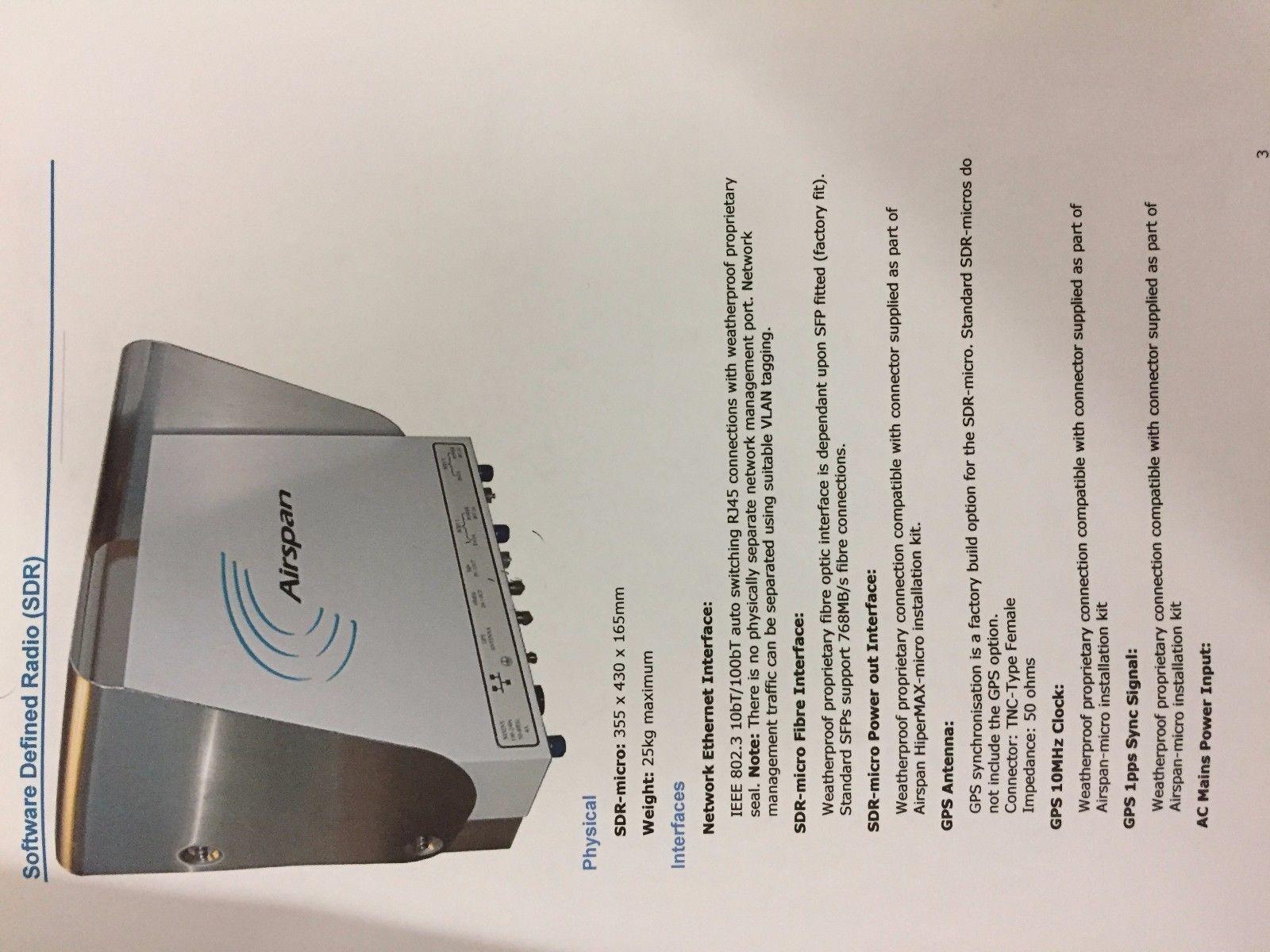Airspan Max IP-BASED Broadband Wireless and 50 similar items