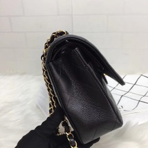 100% AUTH NEW 2019 Chanel BLACK QUILTED CAVIAR MEDIUM DOUBLE FLAP BAG GHW image 4