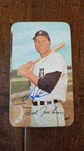 1971 TOPPS SIGNED AUTO SUPERS CARD BILL FREEHAN DETROIT TIGERS MICHIGAN ... - $74.24
